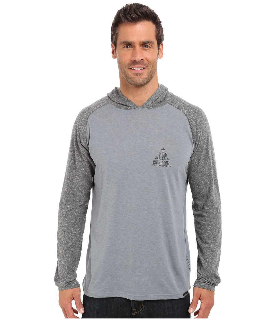 Columbia - Trail Shaker Hoodie (Grey Ash Heather) Men's Sweatshirt