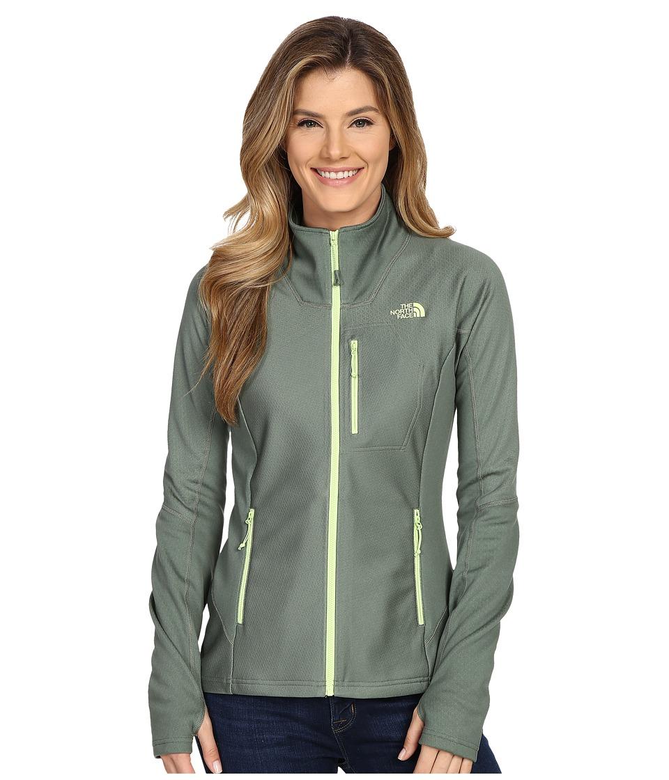 The North Face - FuseForm Dolomiti Full Zip (Laurel Wreath Green Fuse) Women's Coat