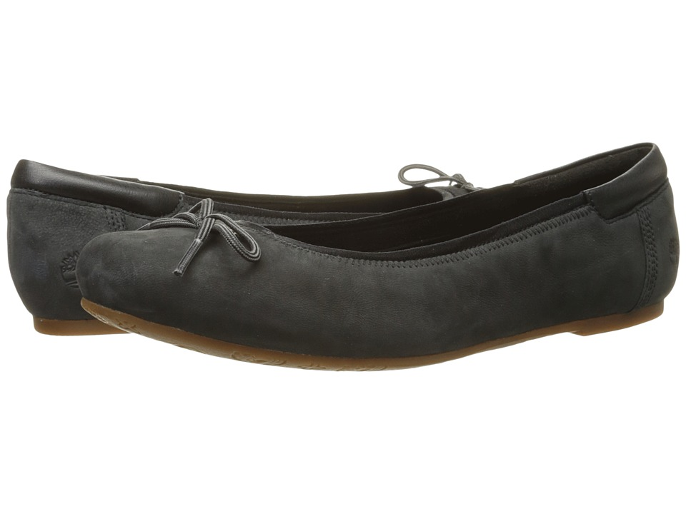 Timberland - Ellsworth 6 Ballerina (Black Nubuck) Women's Flat Shoes