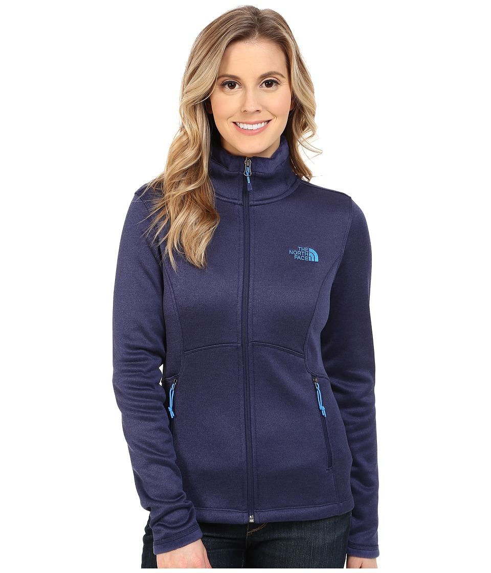 The North Face - Agave Jacket (Patriot Blue Heather) Women's Coat