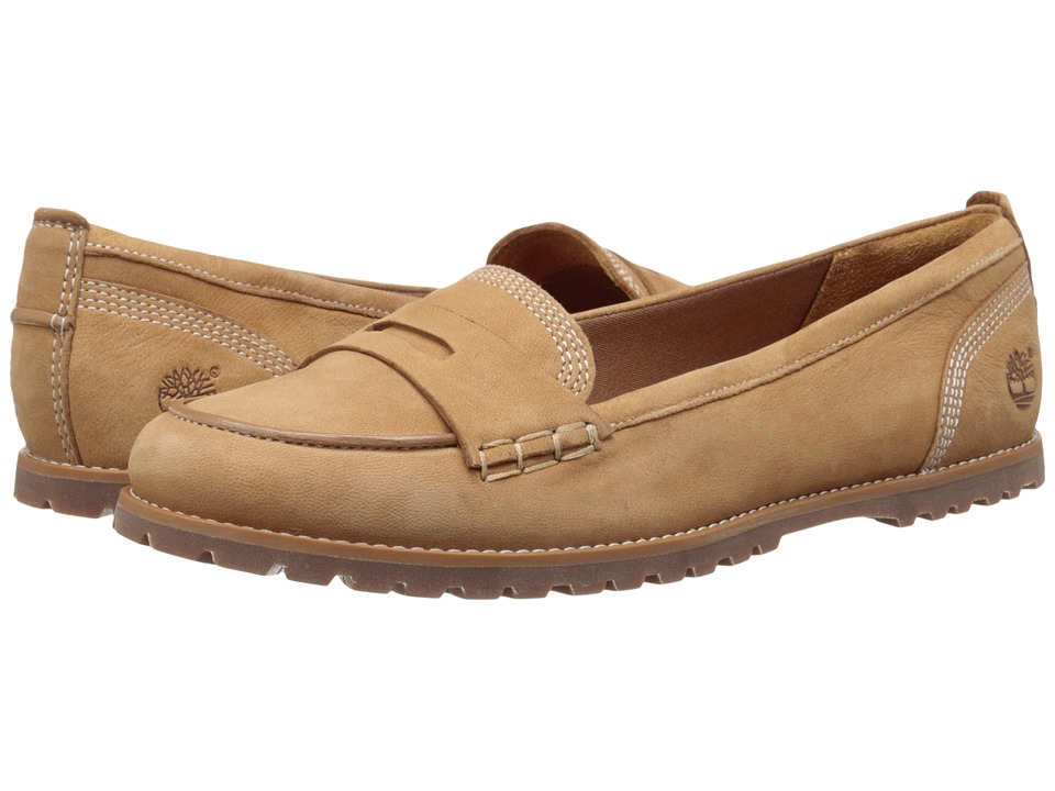 Timberland Joslin Penny Loafer (Wheat Nubuck) Women