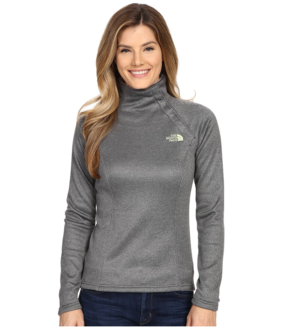 The North Face - Agave 1/4 Snap (TNF Dark Grey Heather) Women's Coat