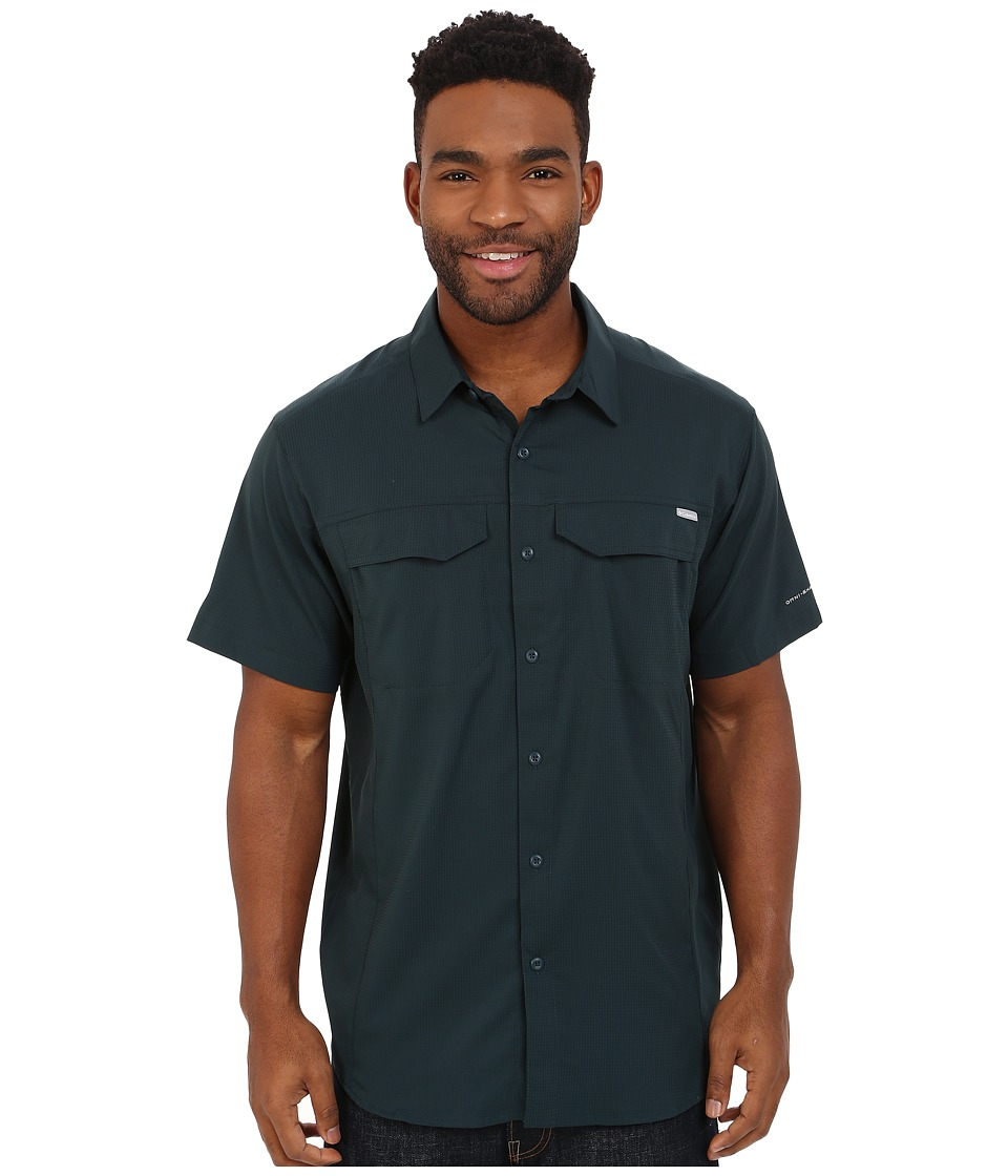 Columbia - Silver Ridge Lite Short Sleeve Shirt (Night Shadow) Men's Short Sleeve Button Up