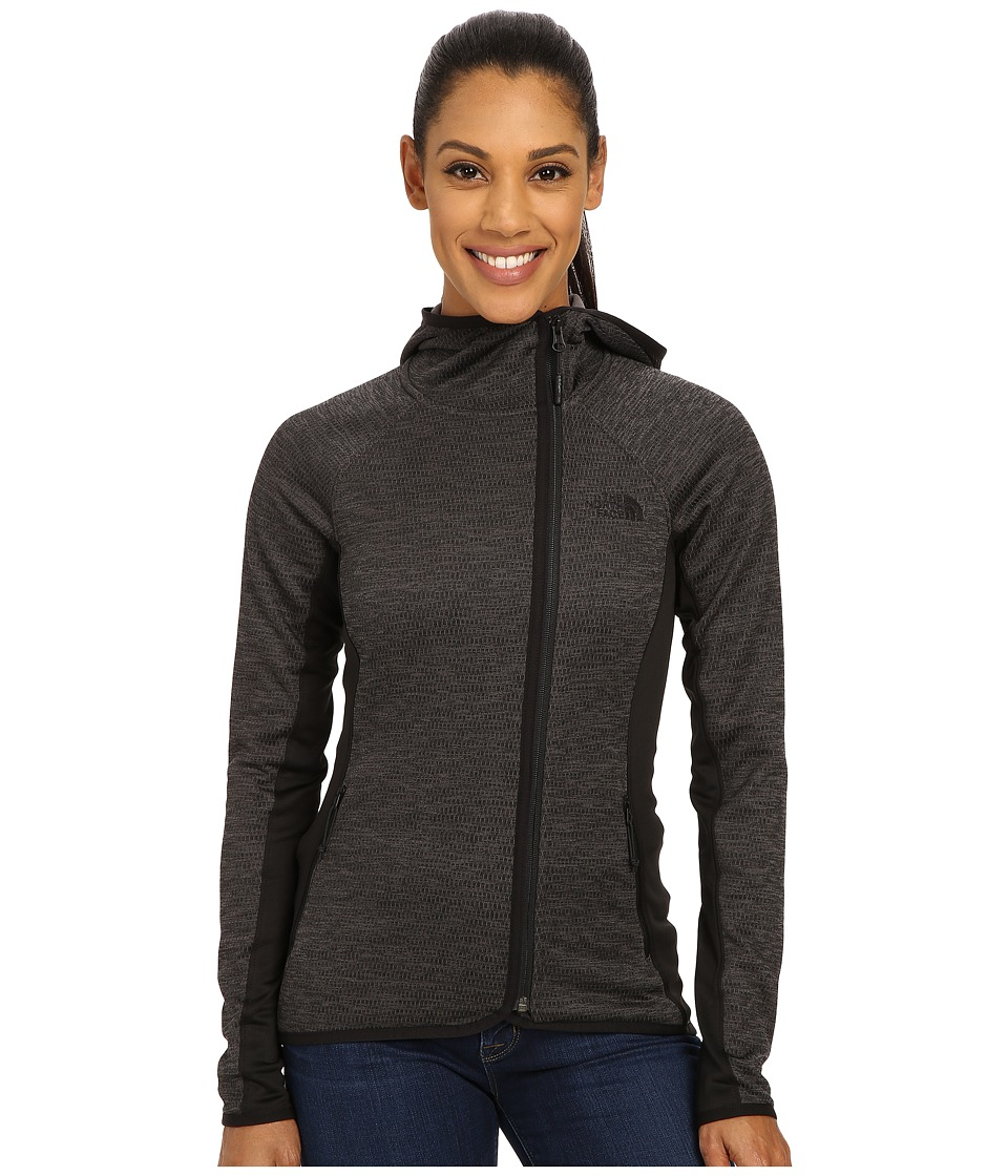 The North Face - Arcata Hoodie (TNF Dark Grey Heather/TNF Black) Women's Sweatshirt