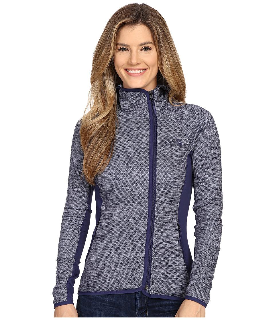 The North Face - Arcata Hoodie (Patriot Blue Heather/Patriot Blue) Women's Sweatshirt