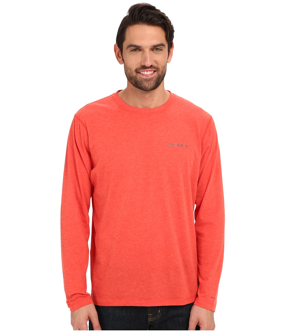 Columbia - Silver Ridge Zero Long Sleeve Shirt (Super Sonic Heather) Men's Long Sleeve Pullover