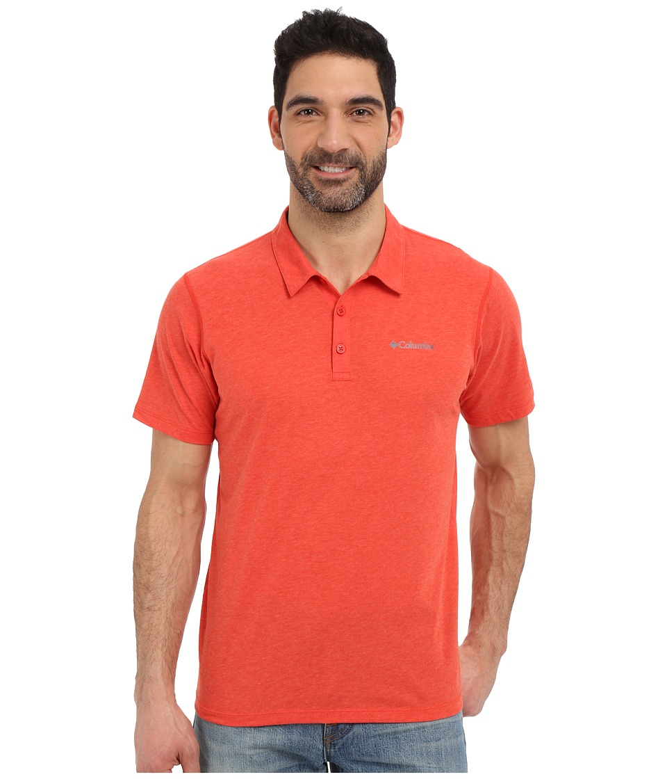 Columbia - Silver Ridge Zero Polo (Super Sonic Heather) Men's Short Sleeve Pullover