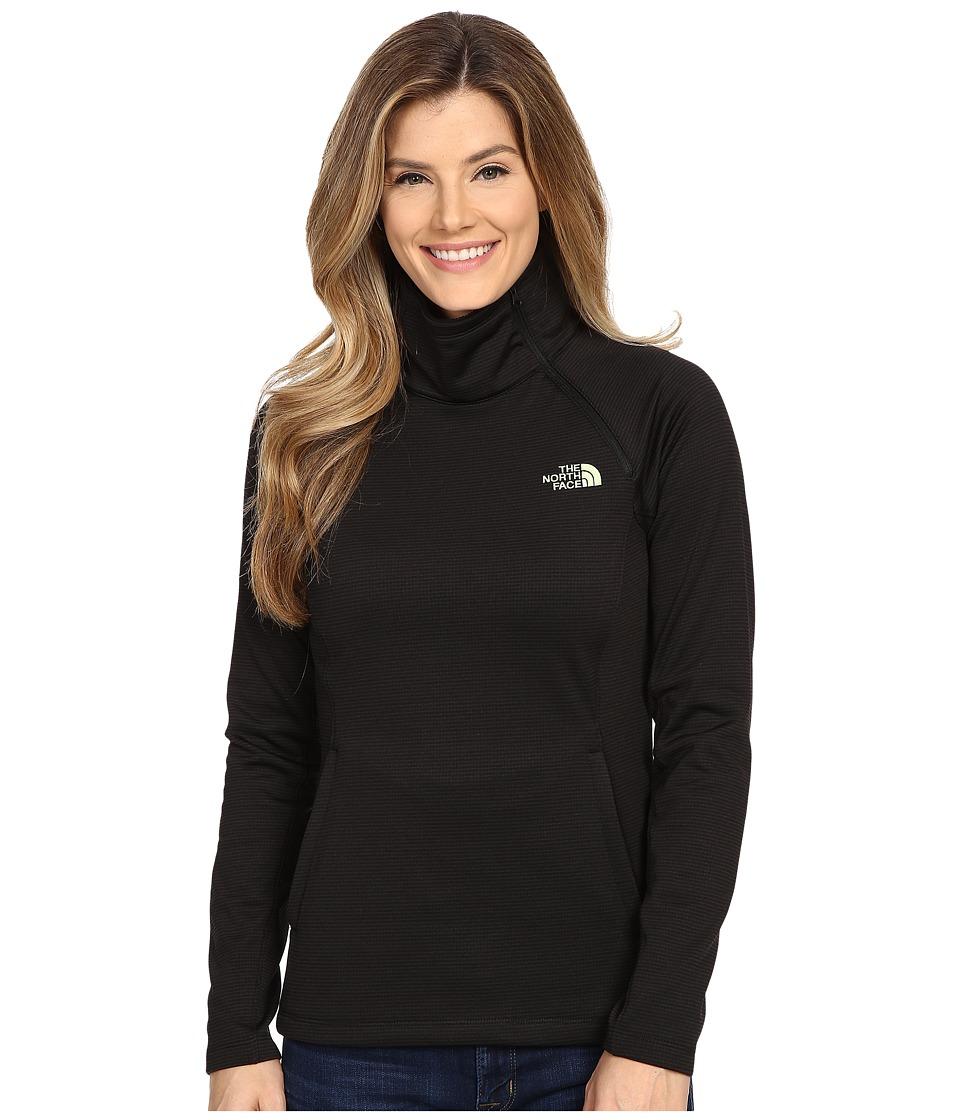 The North Face - Arcata 1/4 Zip (TNF Black Stria) Women's Long Sleeve Pullover