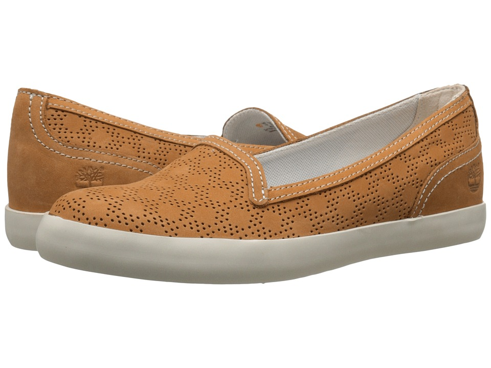 Timberland - Brattleboro Perf Slip-On (Wheat) Women's Shoes