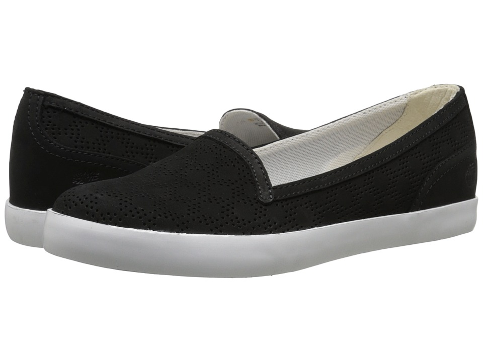 Timberland - Brattleboro Perf Slip-On (Black) Women's Shoes