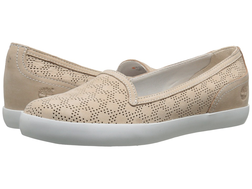 Timberland - Brattleboro Perf Slip-On (Bone) Women's Shoes