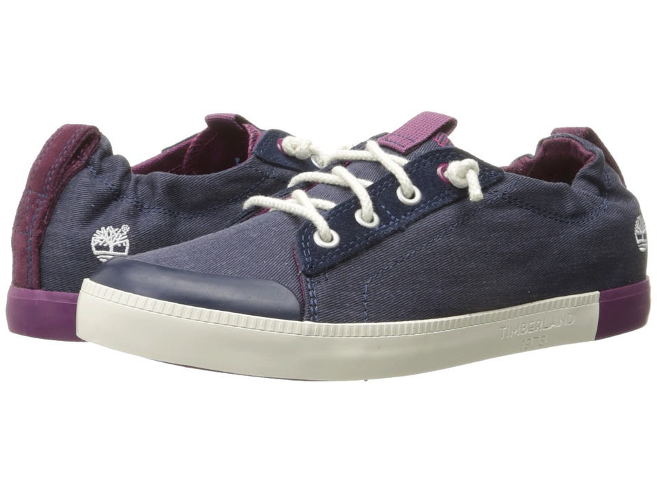 Timberland - Newport Bay Canvas Plain Toe Oxford (Navy) Women's Shoes