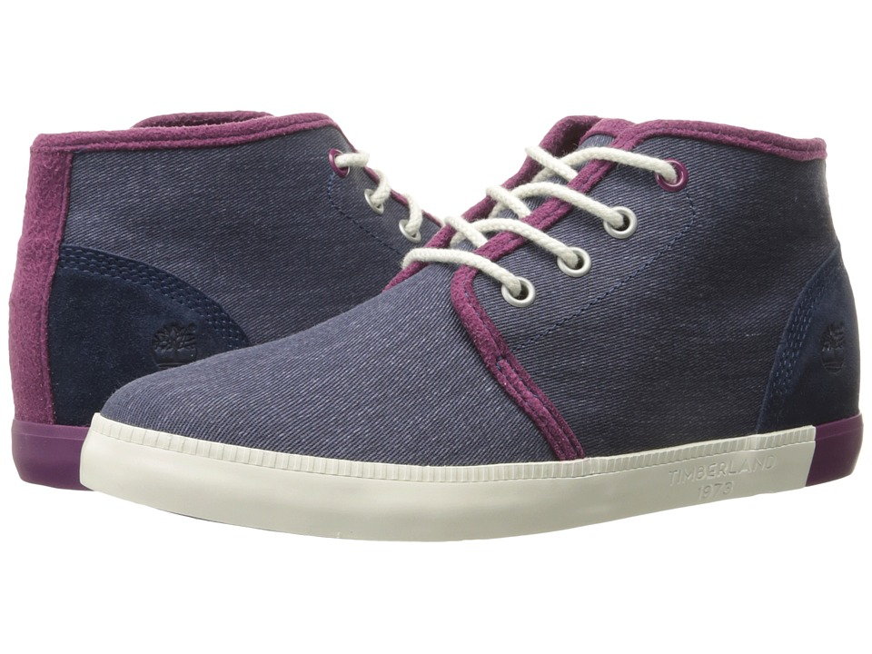 Timberland Newport Bay Canvas Chukka (Navy) Women