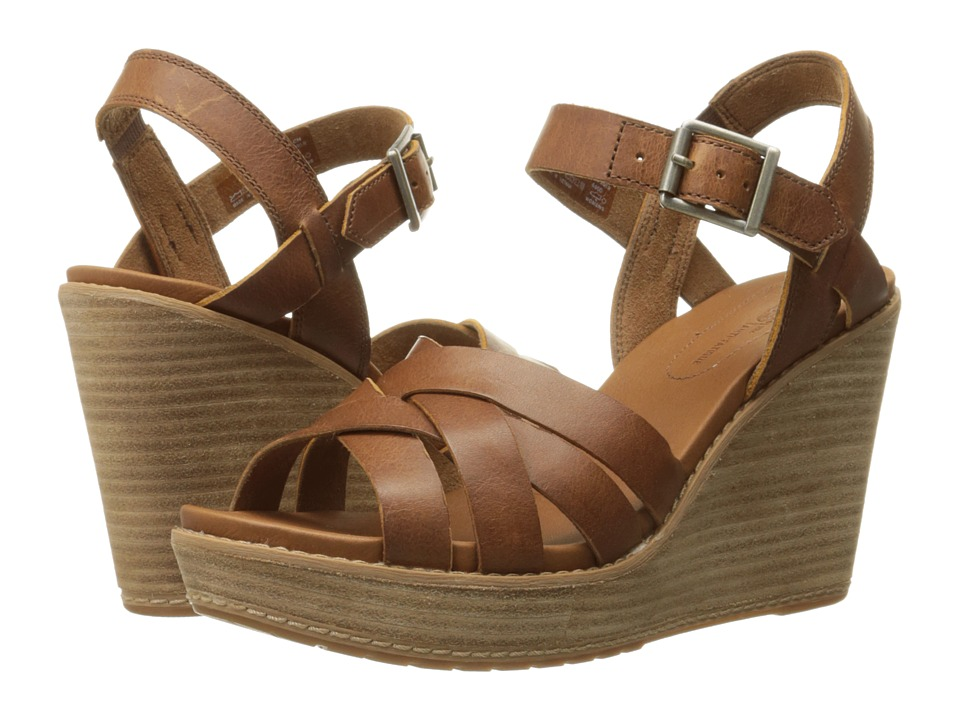 Timberland Danforth Woven Sandal (Buckthorne Brown Journeyman) High Heels