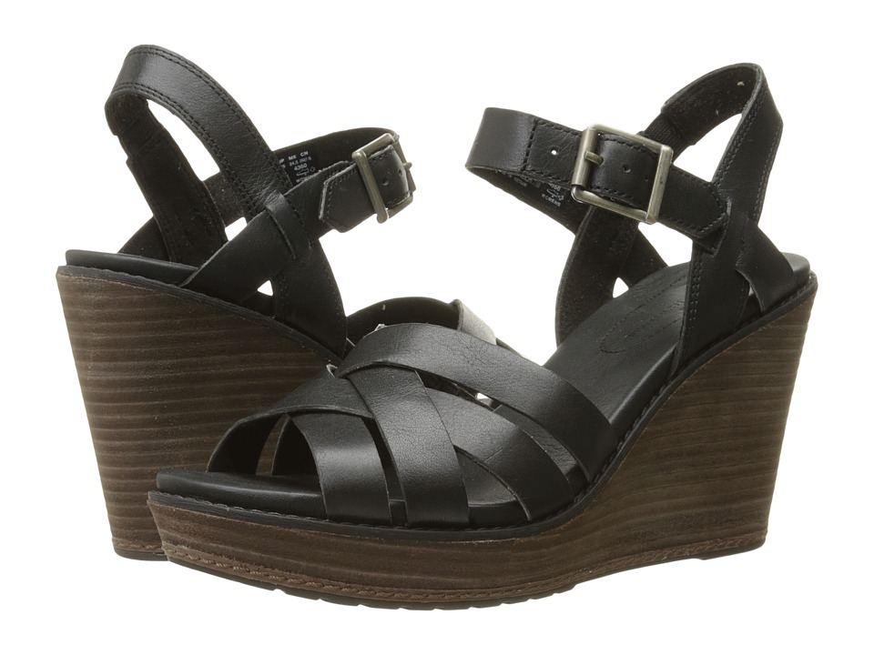 Timberland Danforth Woven Sandal (Black) High Heels