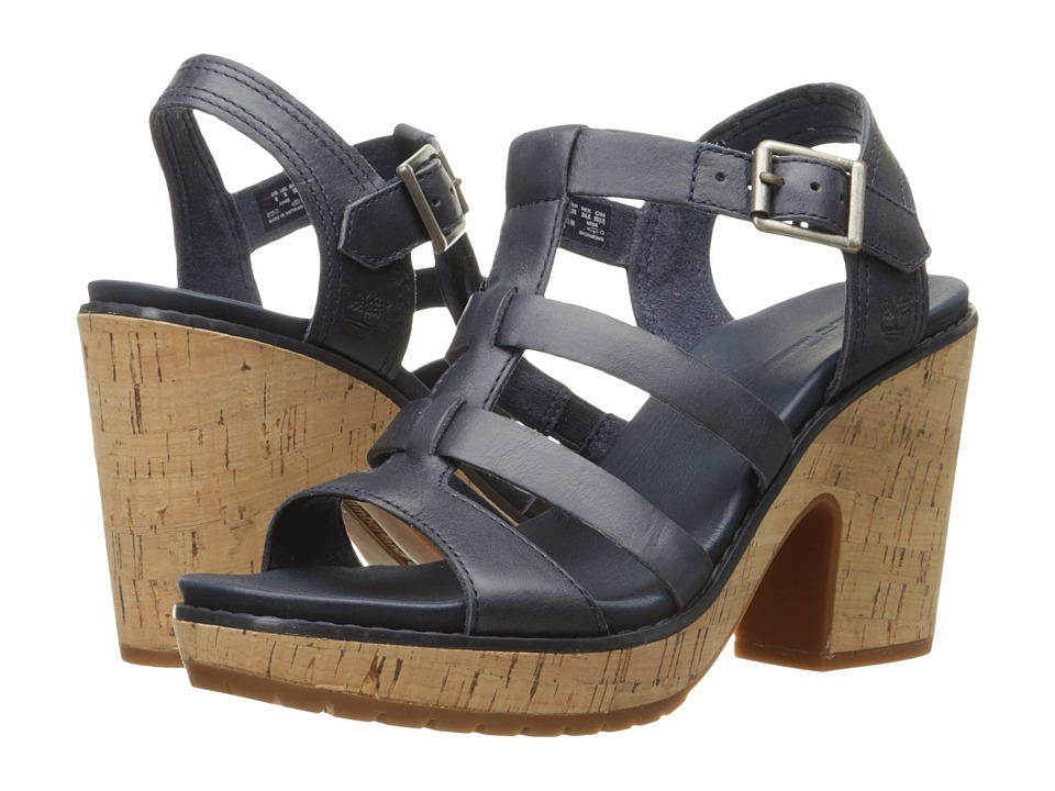Timberland - Roslyn Fisherman Sandal (Navy) High Heels