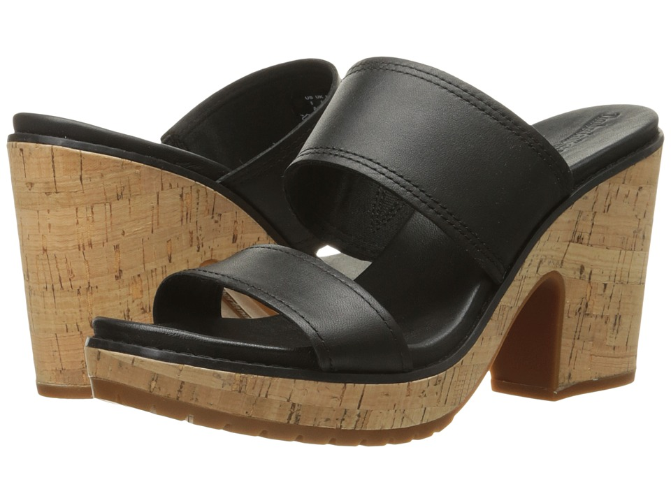 Timberland Roslyn Slide (Black) High Heels