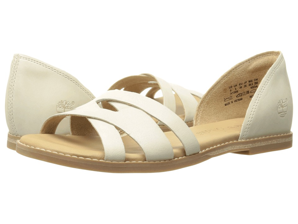 Timberland - Caswell Closed Back Sandal (Off White Antique) Women's Sandals