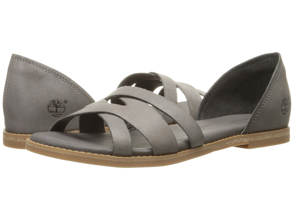 Timberland Caswell Closed Back Sandal (Dark Grey Antique) Women