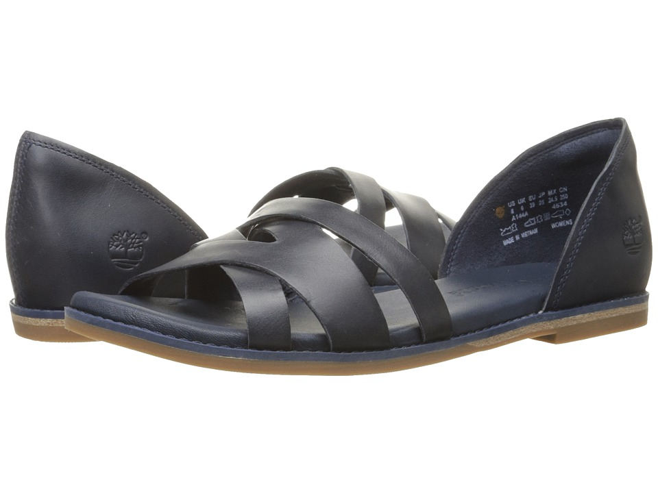 Timberland Caswell Closed Back Sandal (Navy) Women