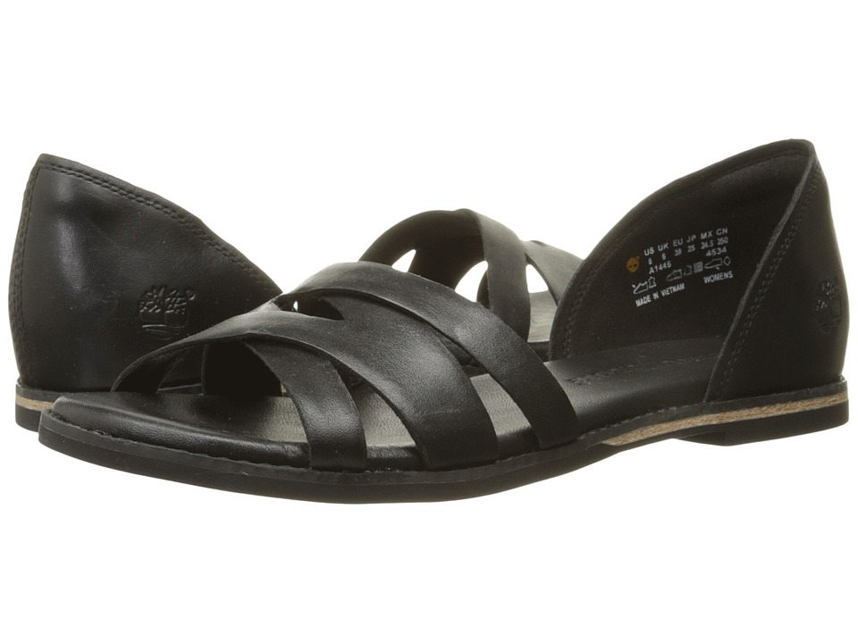 Timberland Caswell Closed Back Sandal (Black) Women