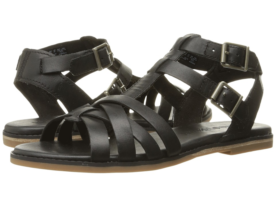Timberland Caswell Fisherman Sandal (Black) Women