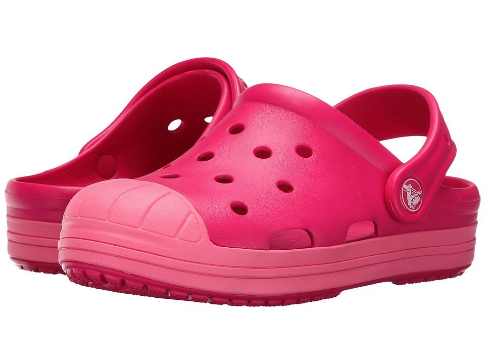 Crocs Kids - Bump It Clog (Toddler/Little Kid) (Raspberry) Girls Shoes