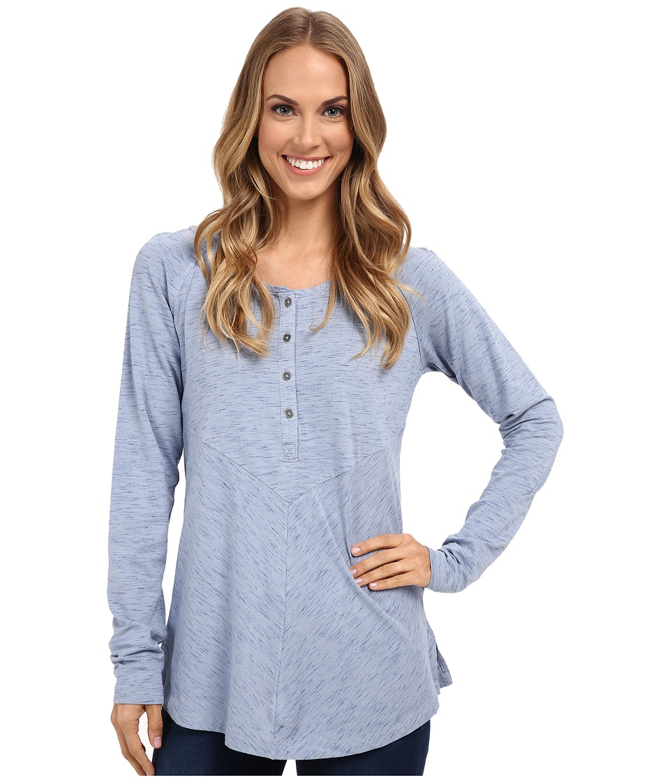 Columbia - Blurred Line Long Sleeve Shirt (Bluebell) Women's Long Sleeve Pullover