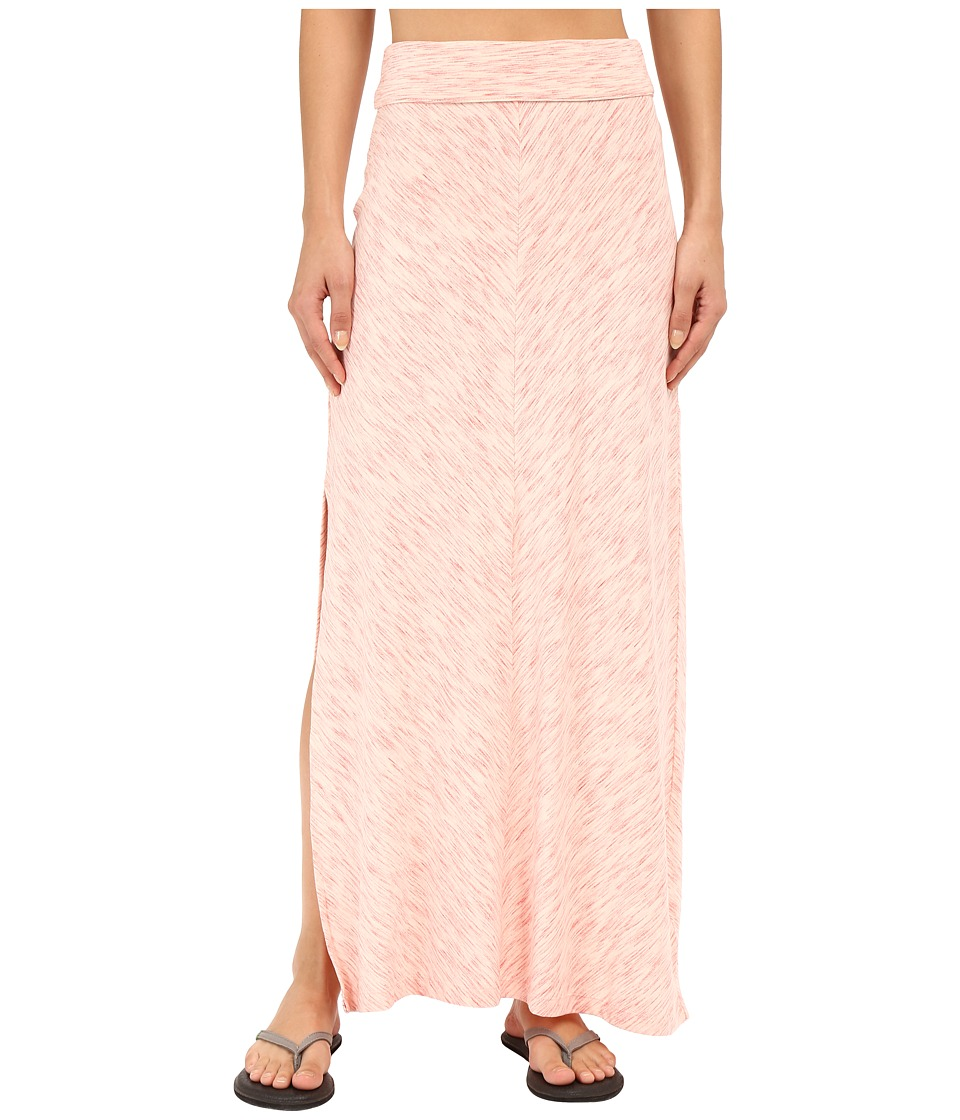 Columbia - Blurred Line Maxi Skirt (Coral Bloom) Women's Skirt