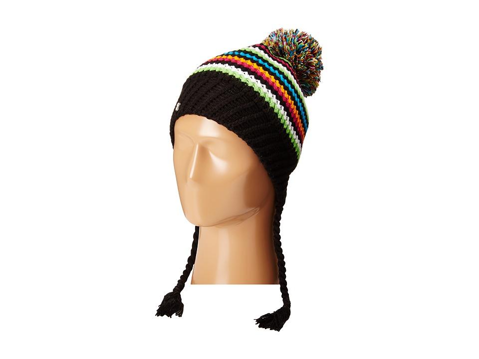 Spyder - Bittersweet Hat (Black/Multi) Beanies
