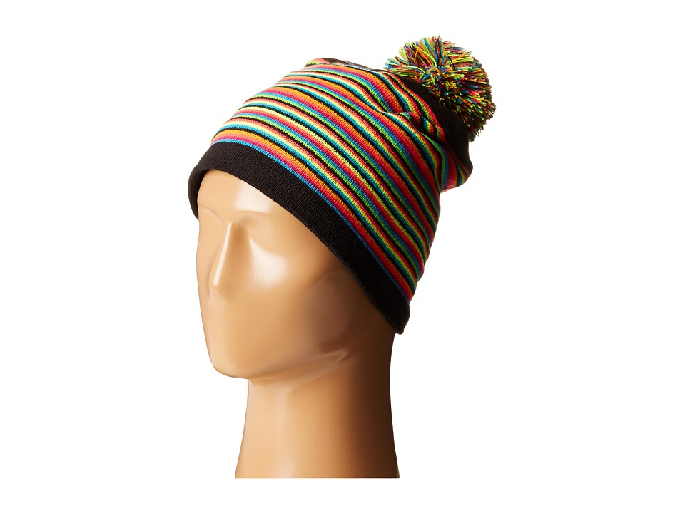 Spyder - Stripes Hat (Black/Multi) Beanies