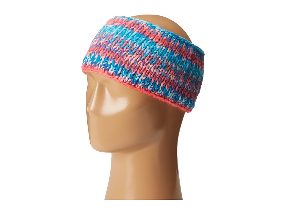 Spyder - Twisty Headband (Riviera/Bryte Pink/White) Knit Hats