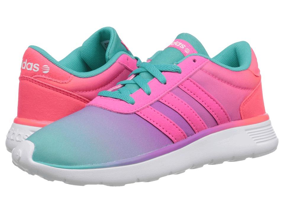 adidas Kids - Lite Racer (Little Kid/Big Kid) (Rainbow Fade) Girl's Shoes
