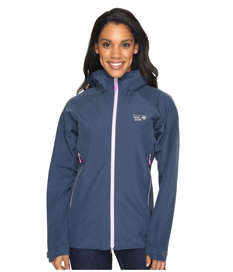 Mountain Hardwear - Quasartm Lite Jacket (Zinc) Women's Jacket