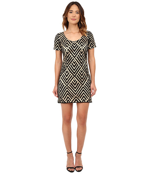 KAS New York - VY Dress (Nude/Black) Women's Dress