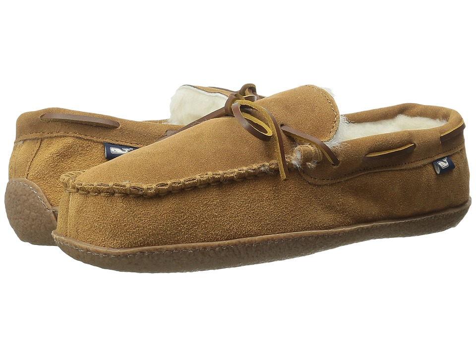 Vineyard Vines - Holiday Slipper (Brown) Men's Slippers