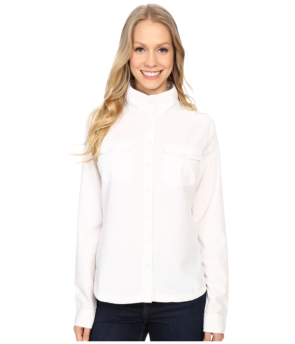 Mountain Khakis - Trail Creek Long Sleeve Shirt (Linen) Women's Clothing
