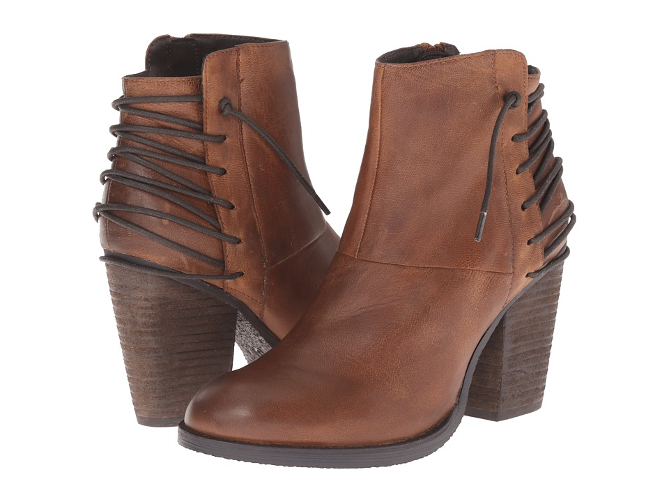 Steve Madden - Raglin (Cognac Leather) Women