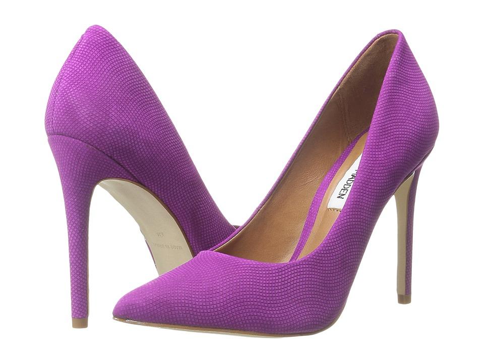 Steve Madden - Proto (Purple Nubuck) High Heels