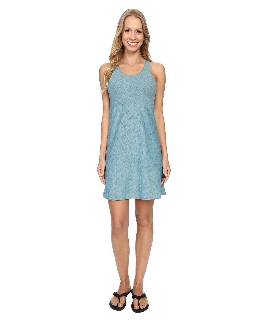 Mountain Khakis - Contour Dress (Glacier/Navy) Women's Dress