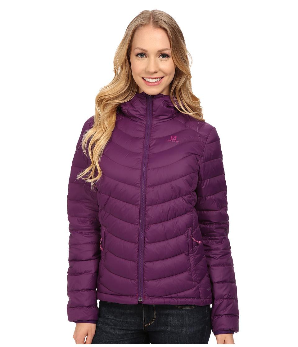 Salomon - Halo Down Hoodie II (Cosmic Purple) Women's Coat