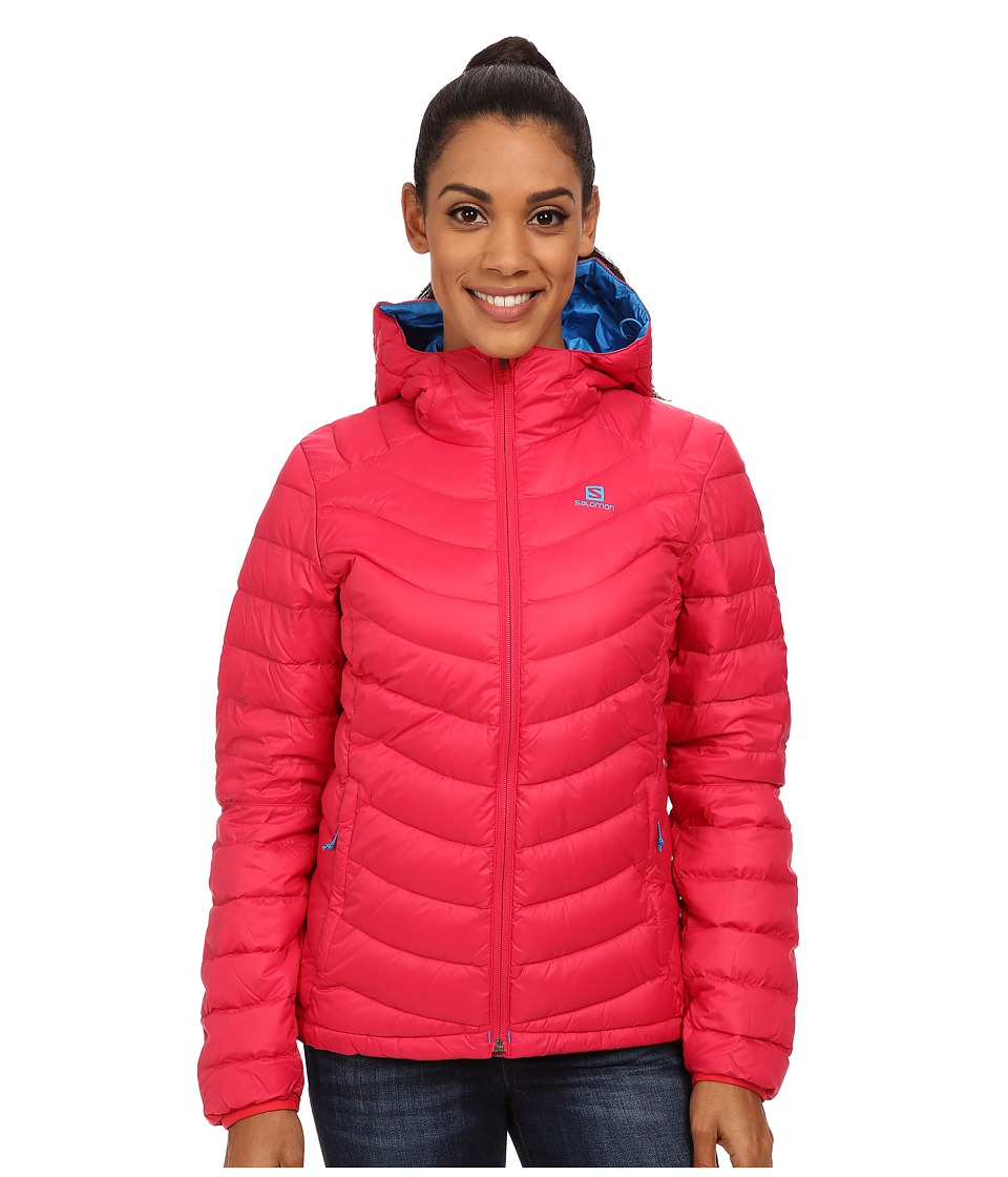 Salomon - Halo Down Hoodie II (Lotus Pink) Women's Coat