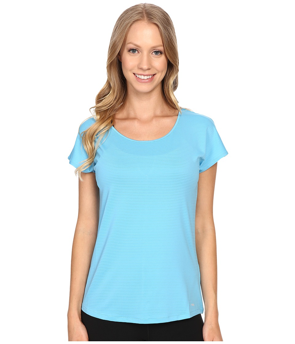 Mountain Khakis - Traverse Short Sleeve Shirt (Blue Topaz) Women's Clothing