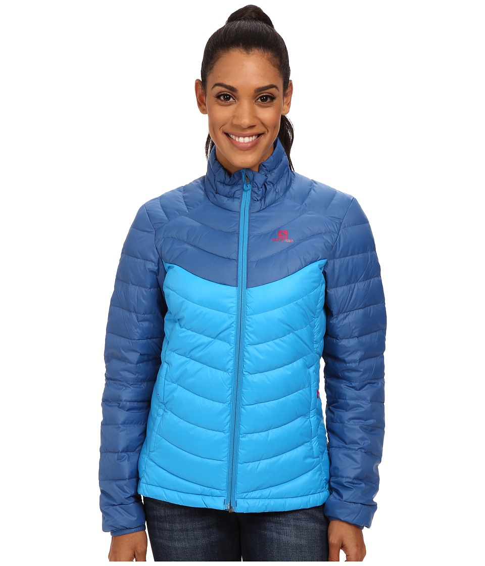 Salomon Halo Down Jacket II (Methyl Blue/Dolomite Blue) Women
