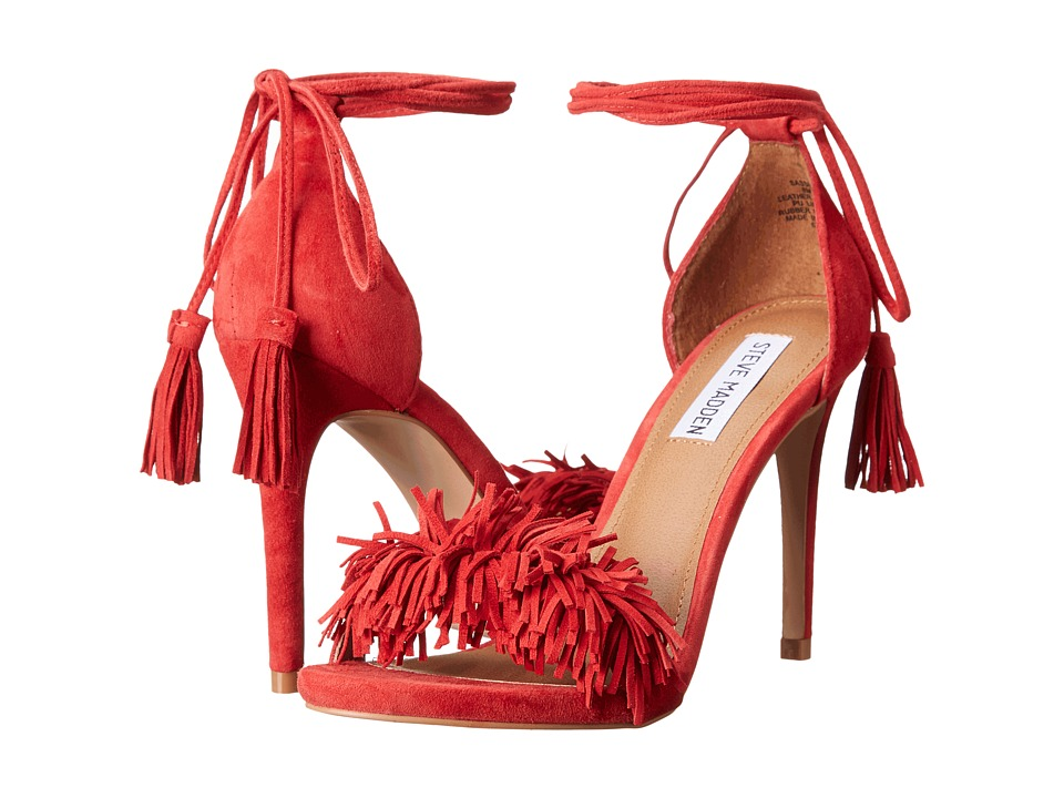 Steve Madden - Sassey (Red Suede) High Heels