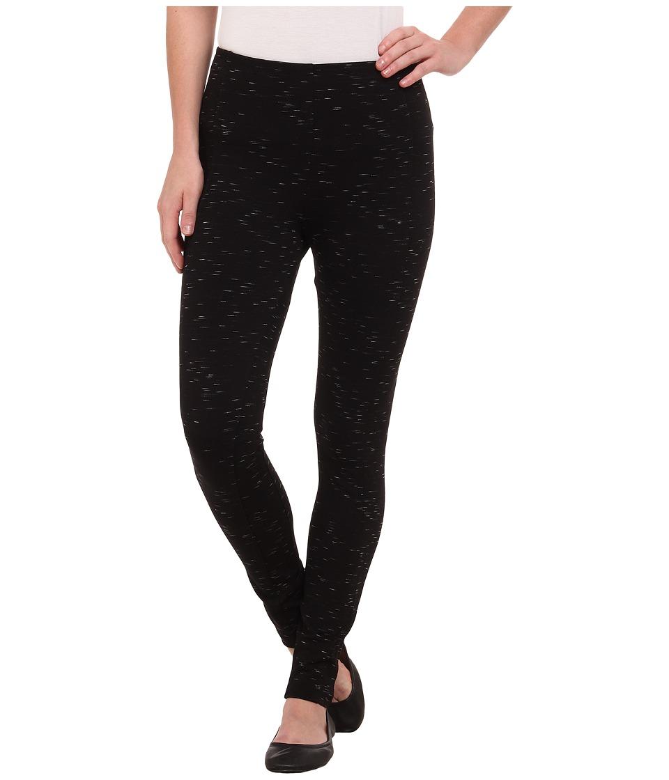 Lysse - Mara Ponte Leggings (Black Slub) Women's Casual Pants
