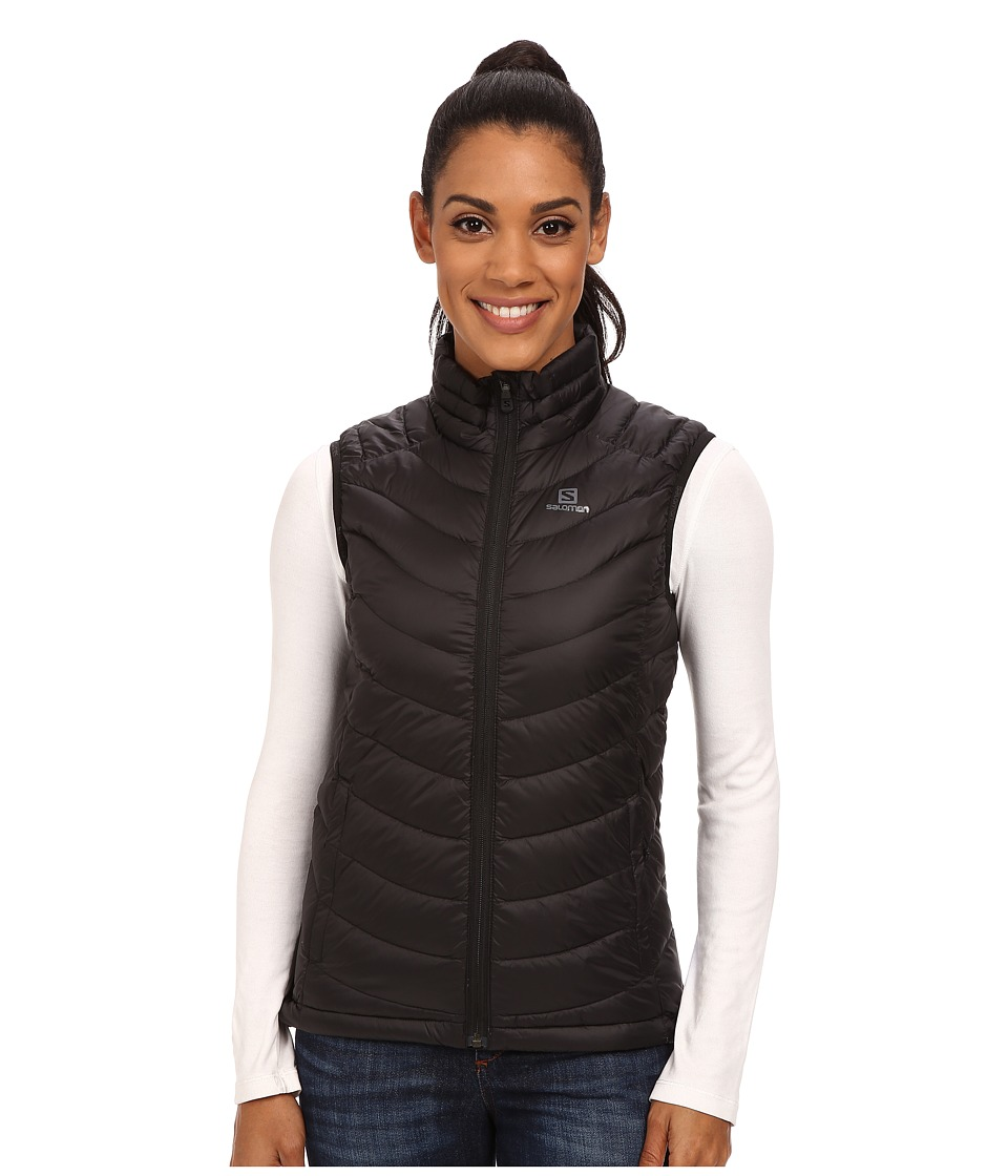 Salomon - Halo Down Vest (Black) Women's Vest