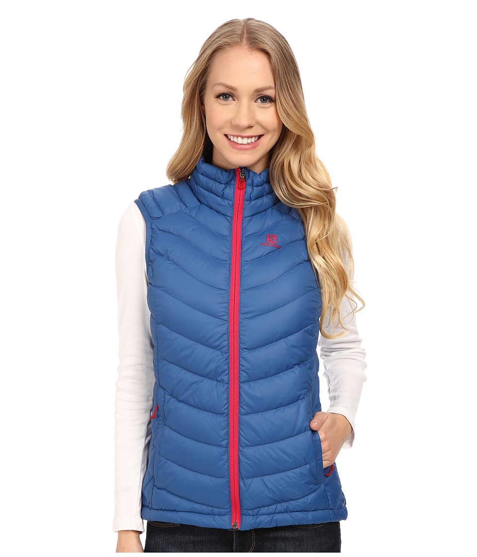 Salomon - Halo Down Vest (Dolomite Blue) Women