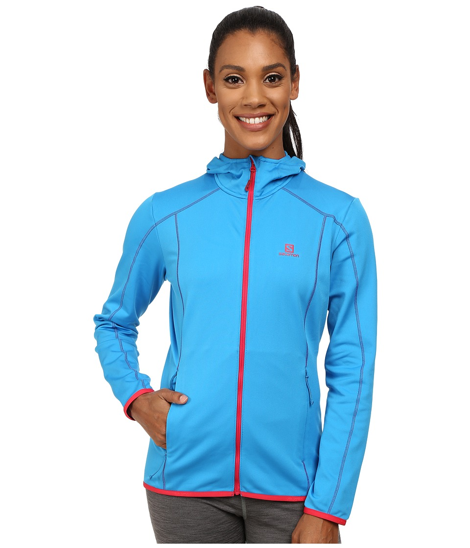 Salomon - Discovery Hoodie (Methyl Blue) Women's Sweatshirt