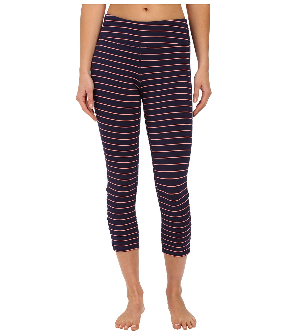 Carve Designs - Baya Capri (Orange Crush Stripe) Women's Capri